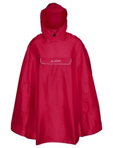 VAUDE Valdipino Poncho indian red Größ M