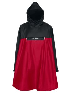 VAUDE Valero Poncho indian red Größ XXL