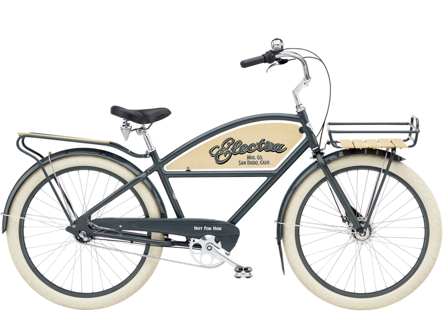 Electra Delivery 3i Step-Over 26  wheel Chicago Grey
