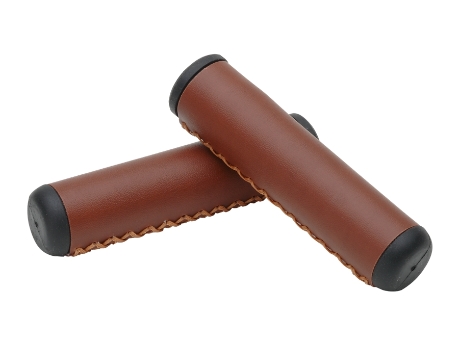 Electra Grip Hand-Stitched Long Vintage Brown