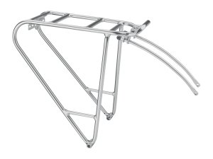 Electra Rack 26  Compatible Alloy Silver Rear