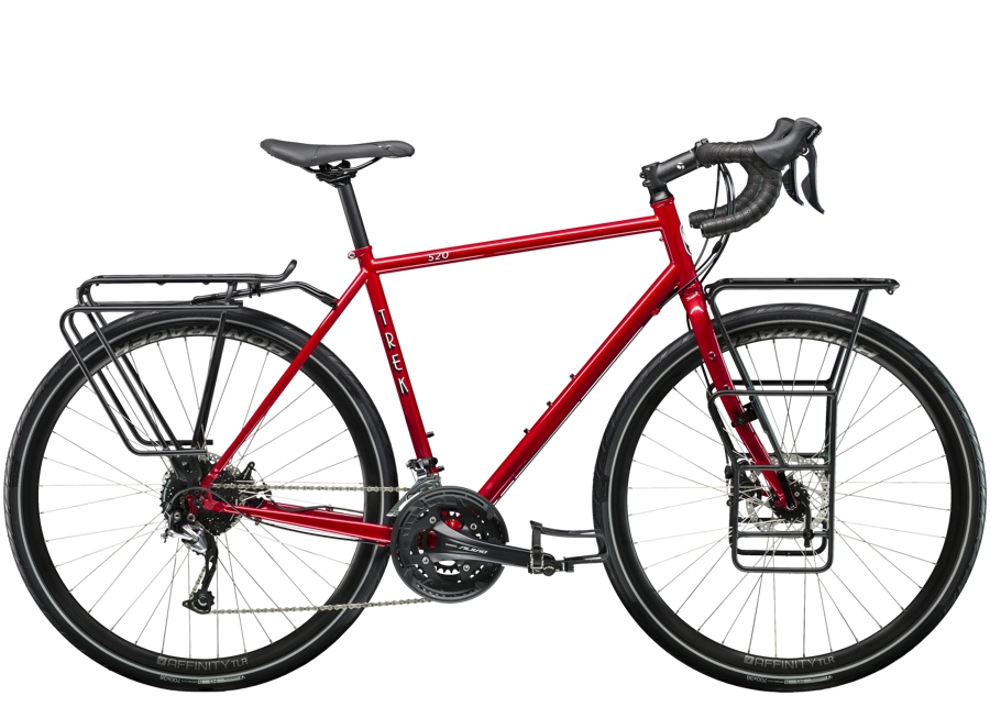 Trek 520 Disc 48 Diablo Red