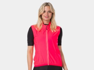 Bontrager Vest Circuit Wind Women Large Radioactive Pink